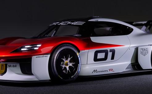 Circuitracer van de toekomst: Porsche Mission R